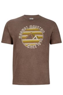 Purview Tee SS, Brown Heather, medium