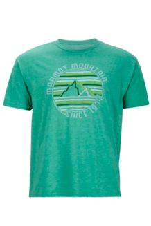 Purview Tee SS, Green Heather, medium