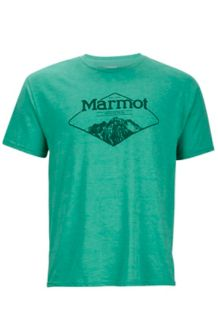 Mountaineer Tee SS, Green Heather, medium