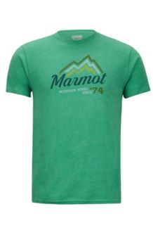 Beams Tee SS, Green Heather, medium
