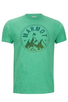 Perimeter Tee SS, Green Heather, medium