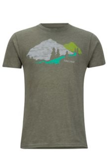 Tread Lightly Tee SS, Olive Heather, medium
