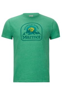 Altitude Tee SS, Green Heather, medium