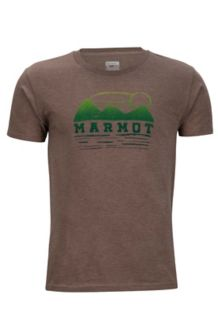 Vestige Tee SS, Brown Heather, medium