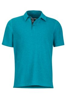 Wallace Polo SS, Deep Jade Heather, medium