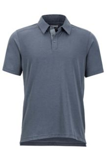 Wallace Polo SS, Steel Onyx Heather, medium
