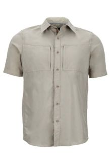 Diamond Peak SS, Light Khaki Heather, medium