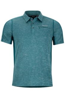 Drake Polo SS, Deep Teal, medium