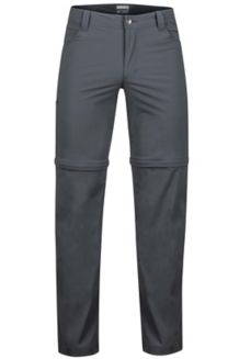 Transcend Convertible Pant L, Slate Grey, medium