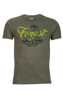 Forest Tee SS, Olive Heather, medium