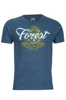 Forest Tee SS, Navy Heather, medium
