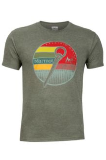 Rock Tee SS, Olive Heather, medium