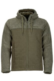 Rivendell Hoody, Beetle Green/Forest Night, medium