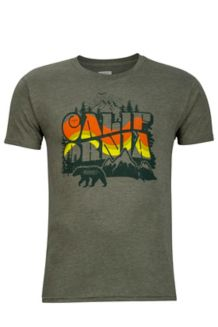 Greenery Tee SS, Olive Heather, medium
