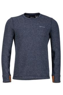 Callen Crew LS, Dark Indigo Heather, medium