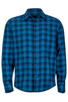 Bodega Flannel LS, Denim, medium