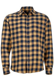 Bodega Flannel LS, Chamois, medium