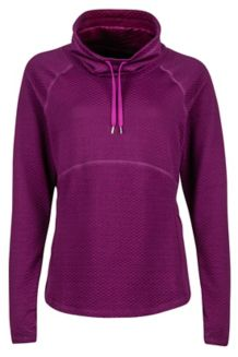 Wm's Annie LS, Deep Plum, medium