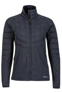 Wm's Featherless Hybrid Jacket, Black, medium