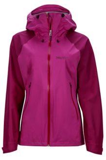 Wm's Valor Jacket, Neon Berry/Grape, medium