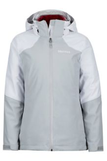 Wm's Featherless Component Jacket, Bright Steel/White, medium