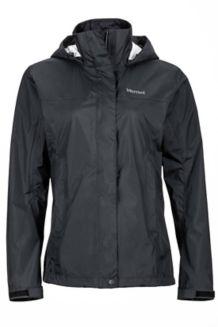 Wm's PreCip Jacket, Black, medium