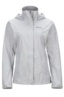 Wm's PreCip Jacket, Platinum, medium