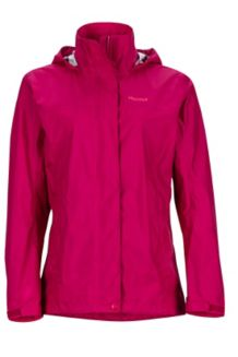Wm's PreCip Jacket, Sangria, medium