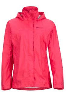 Wm's PreCip Jacket, Hibiscus, medium