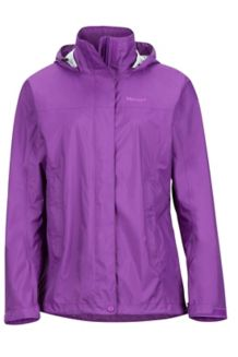Wm's PreCip Jacket, Bright Violet, medium