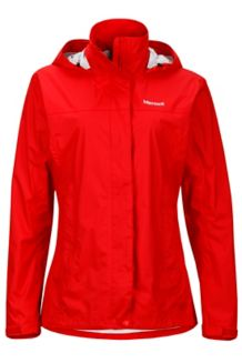 Wm's PreCip Jacket, Tomato, medium
