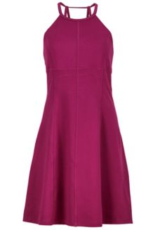 Wm's Genevieve Dress, Deep Plum, medium