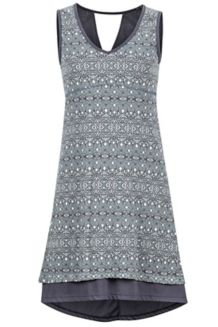 Wm's Larissa Dress, Dark Charcoal Sage, medium