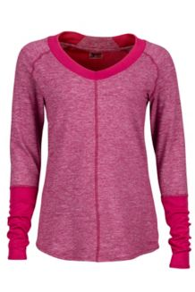 Wm's Jayla LS, Red Dahlia Heather, medium