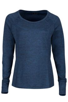 Wm's Eliza LS, Dark Indigo Heather, medium