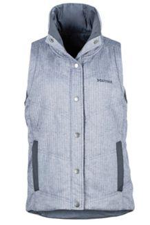 Wm's Peyton Reversible Vest, Arctic Navy/Dark Steel, medium