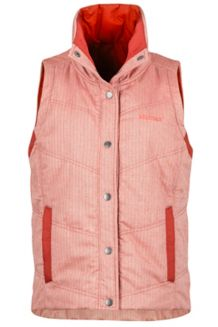 Wm's Peyton Reversible Vest, Fox/Fox, medium