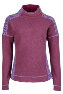 Wm's Vivian Sweater, Red Grape, medium