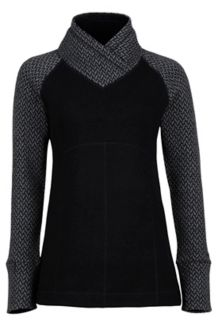 Wm's Brynn Sweater, Black, medium