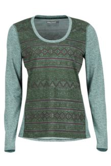 Wm's Simone LS, Sprig Indie, medium