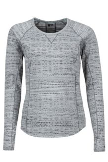 Wm's Sylvie LS, Dark Steel, medium