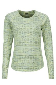 Wm's Sylvie LS, Honeydew, medium