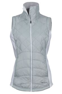 Wm's Nitra Vest, Bright Steel/White, medium