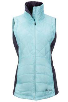 Wm's Nitra Vest, Blue Tint/Dark Charcoal, medium