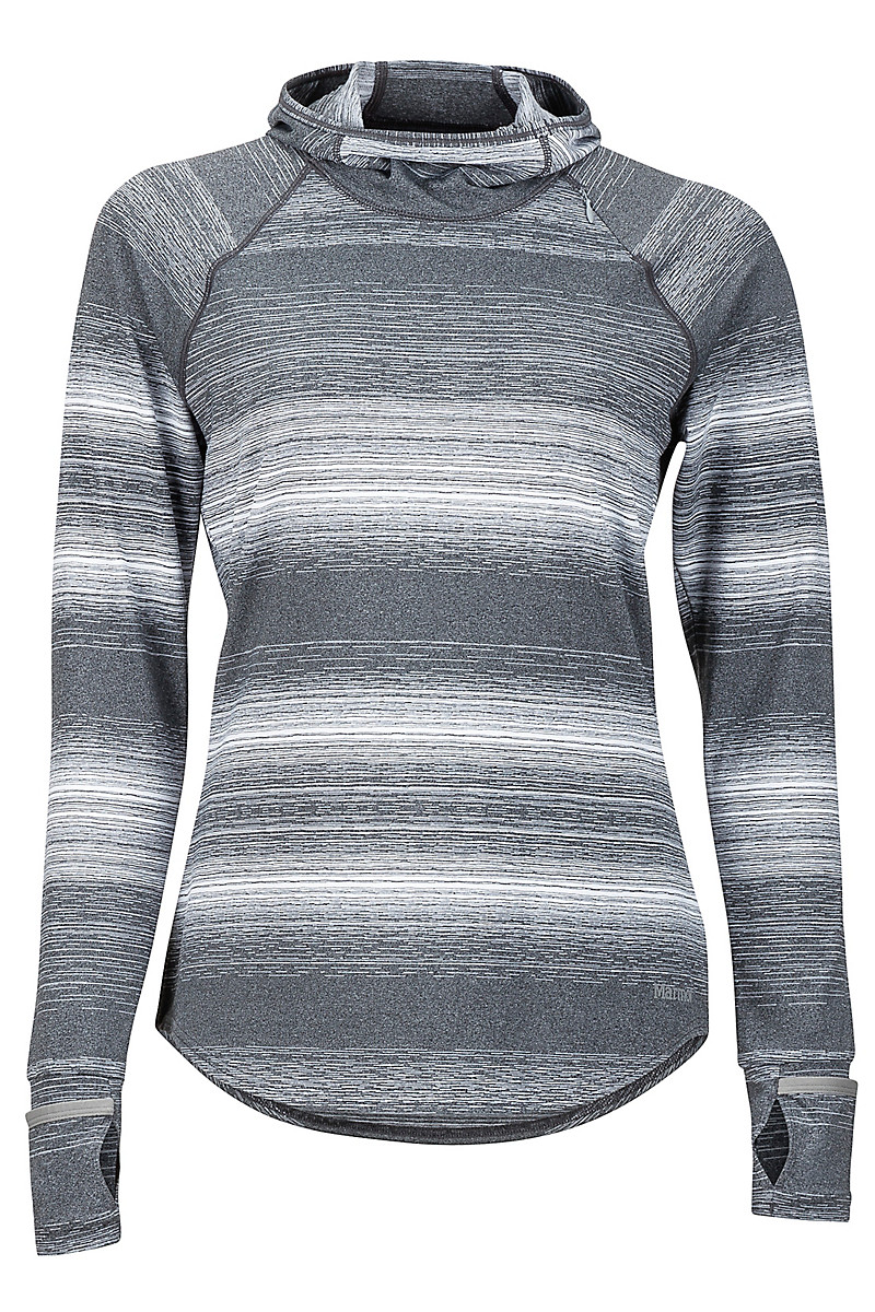 Wm's Tranquility Hoody, Grey Storm, large
