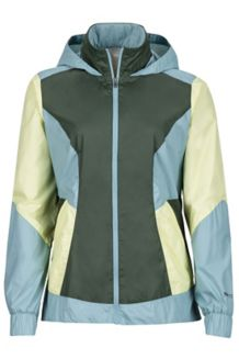 Wm's Laurel Hoody, Honeydew/Blue Shale, medium