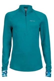 Wm's Excel 1/2 Zip, Malachite/Malachite Brights, medium