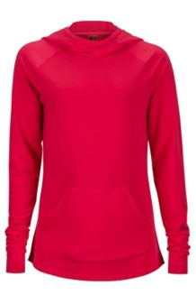Wm's Tess Hoody, Hibiscus, medium