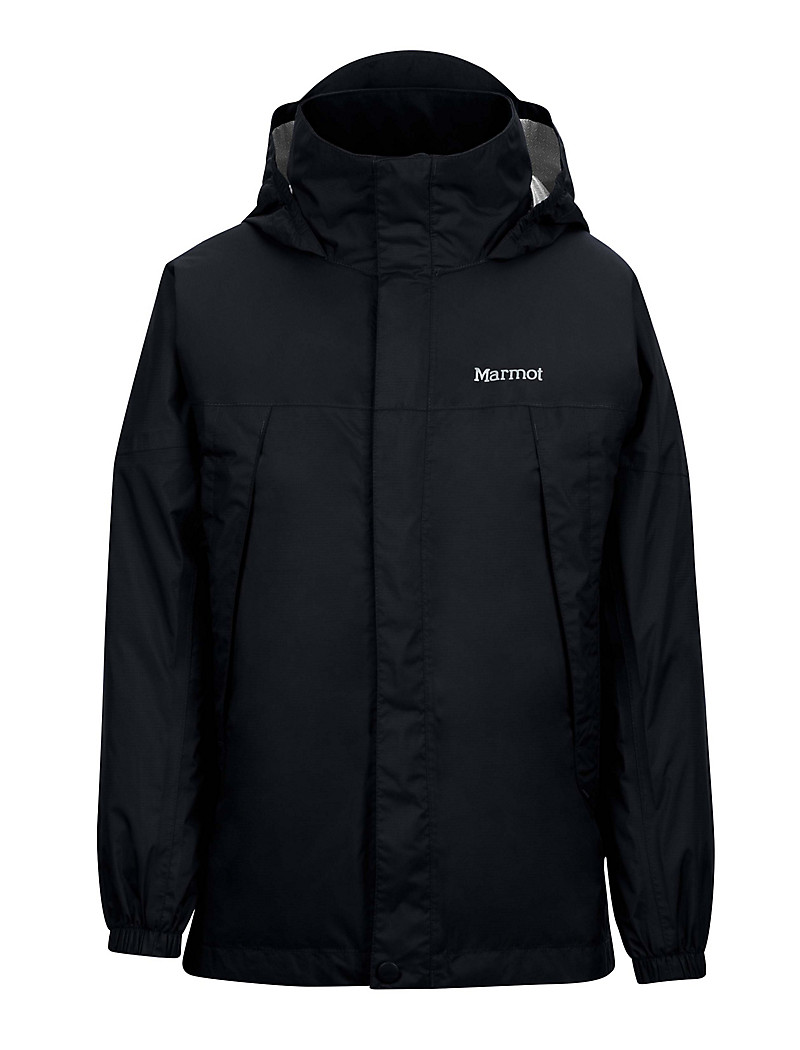 Boy's PreCip Jacket, Black, large