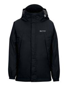 Boy's PreCip Jacket, Black, medium